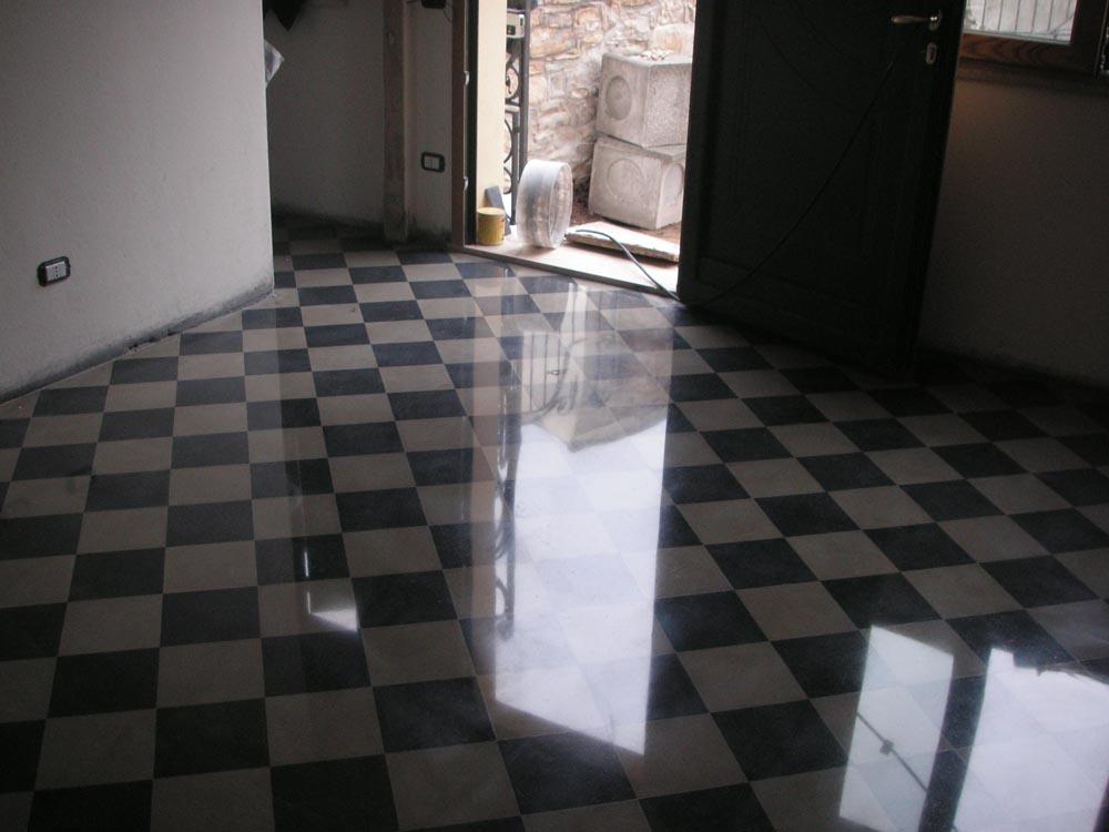 Levigazione pavimenti cementine for Piastrelle 25x25